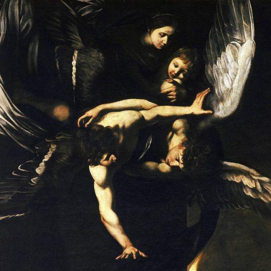 Sette_opere_di_Misericordia_-_Madonna_col_Bambino_e_angeli_1