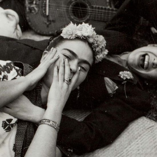 Frida with Costa Rican singer,  Chavela Vargas